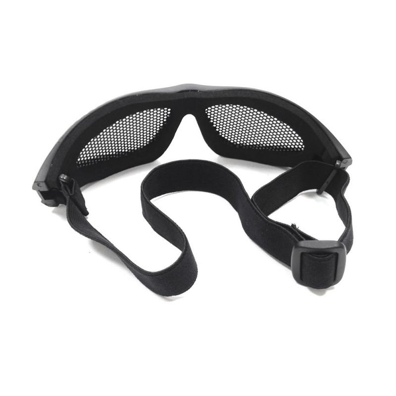 bb94ef17ceeb2 Óculos para Airsoft Kobra - Preto - NTK