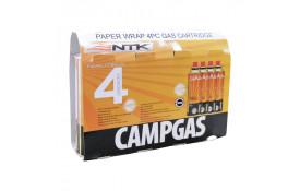 CARTUCHO DE GÁS NTK CAMPGAS (4 PEÇAS)