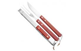Conjunto de 3 peças para Churrasco Fork -  Nautika-cutelaria-costal