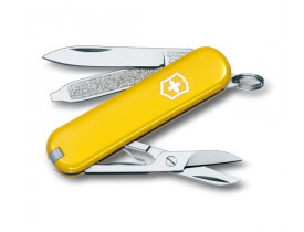 Canivete Victorinox Classic Amarelo 7 Funções -  Ref. 0.6223.8