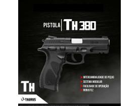 Pistola Taurus  Hammer PT TH380 - Calibre .380 ACP - Oxidada