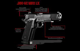 Pistola Imbel .380 GC-MD2 LX -cutelaria costal