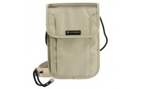 Bolsa Para Viagem Victorinox - Deluxe Security Pouch c/ RFID TA 4.0 Bege -  Ref. 31371908