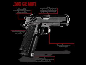 Pistola Imbel .380 GC MD1  S/ADC