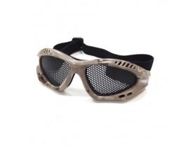 Óculos para Airsoft Kobra - Desert Camuflado - NTK
